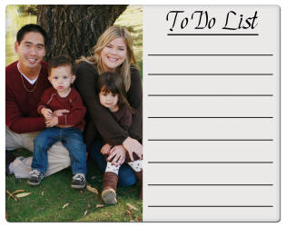 Sublimation Blanks - Unisub Dry Erase Steel Photo Panels - to do list
