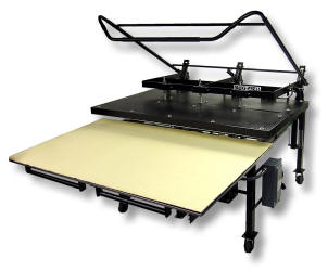 Sublimation Heat Presses - Knight Large Format Heat Press Maxi Press