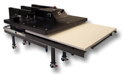 Sublimation Heat Presses - Knight Large Format Heat Press Maxi Press Air Op